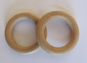 Ronde ring hout  40 mm