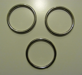 Ronde ring  50 mm doorgang 40 mm