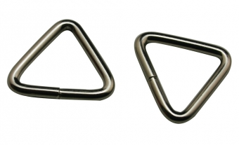Driehoek ring triangle doorvoer 16 mm